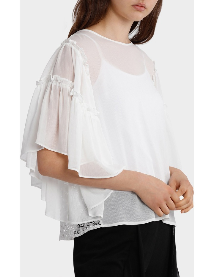 Top Full Sleeve with all over Lace back image 2