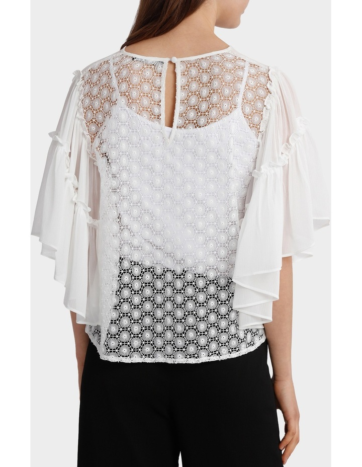 Top Full Sleeve with all over Lace back image 3