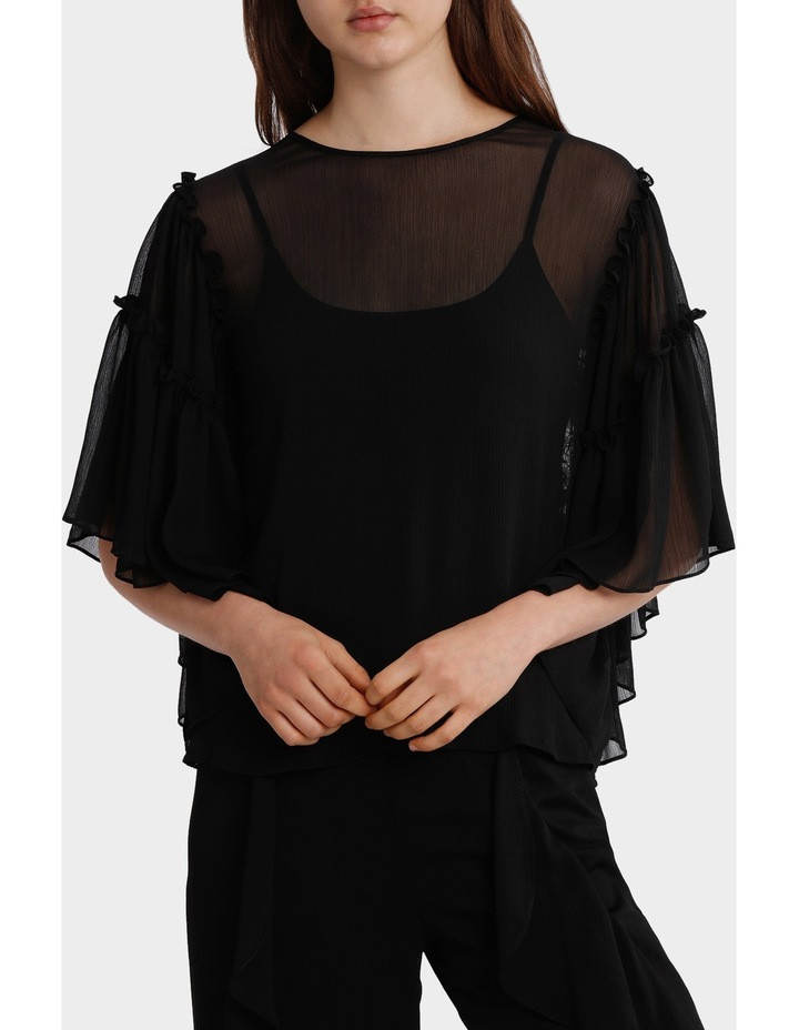 Top Full Sleeve with all over Lace back image 1