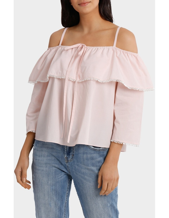 Top With Frill And Strap Details image 1