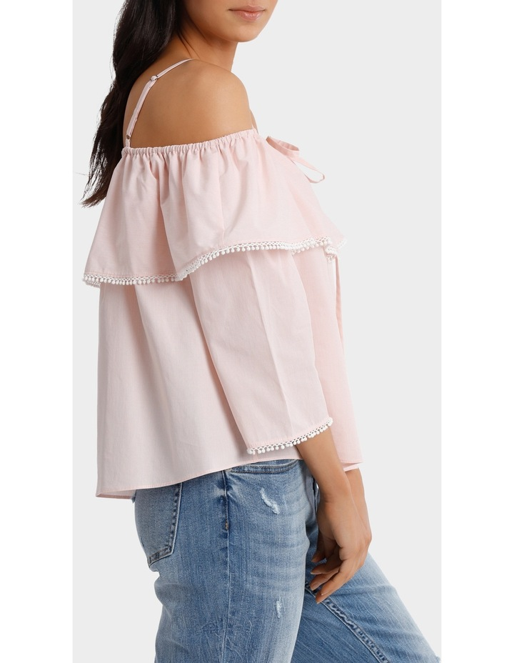 Top With Frill And Strap Details image 2