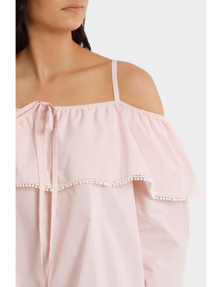 Top With Frill And Strap Details image 4
