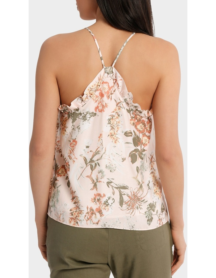 Top Cami with side ruffle image 3