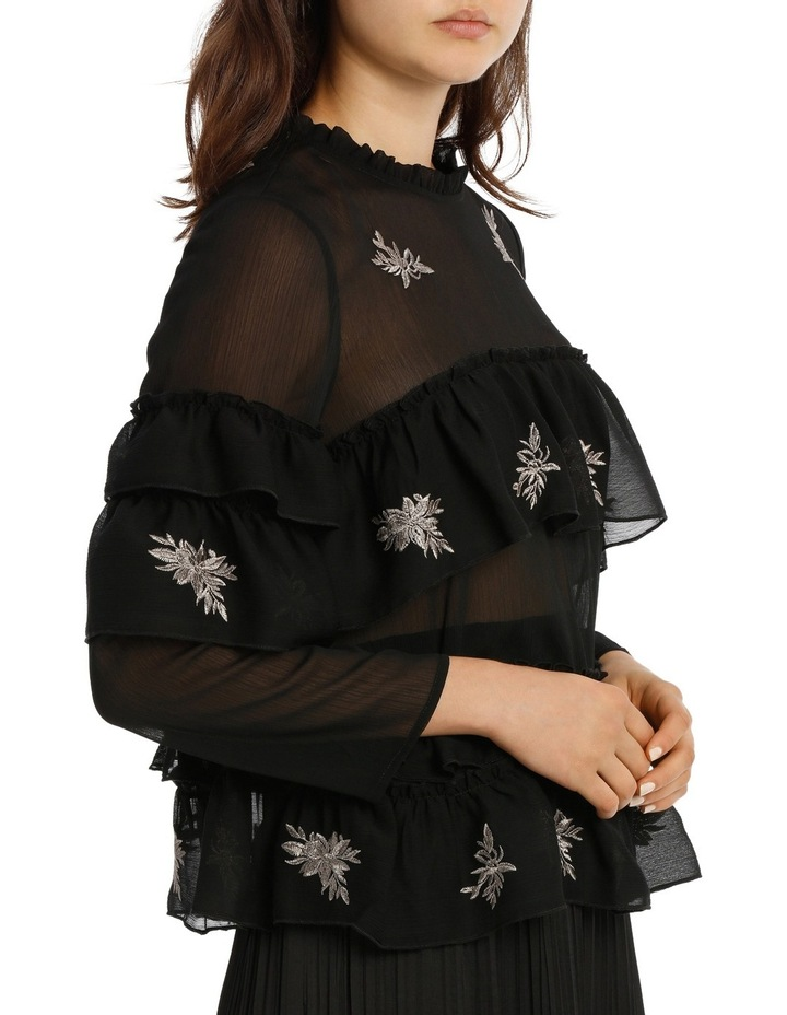 Top Embroidered With Ruffles image 2