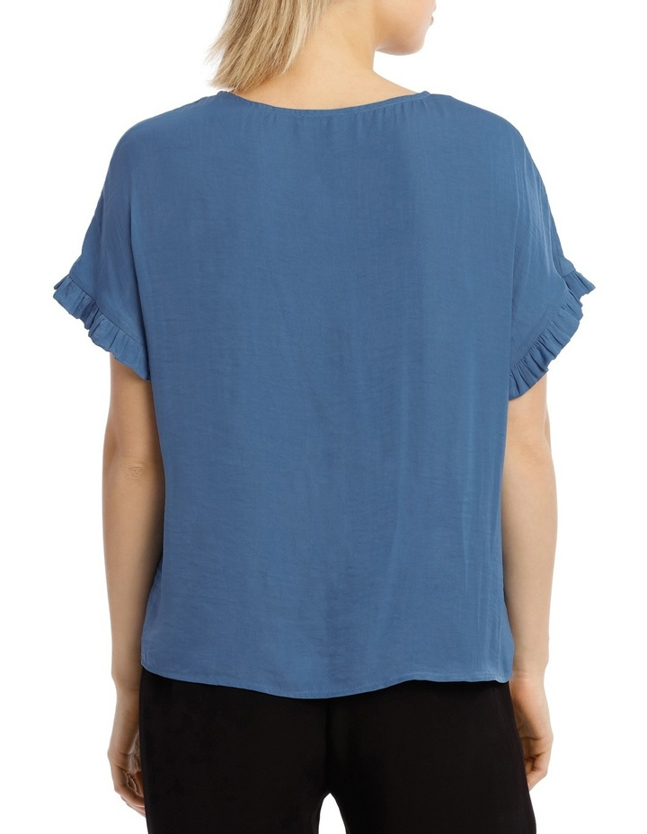 Top Bruised Polyester Ruffles image 3