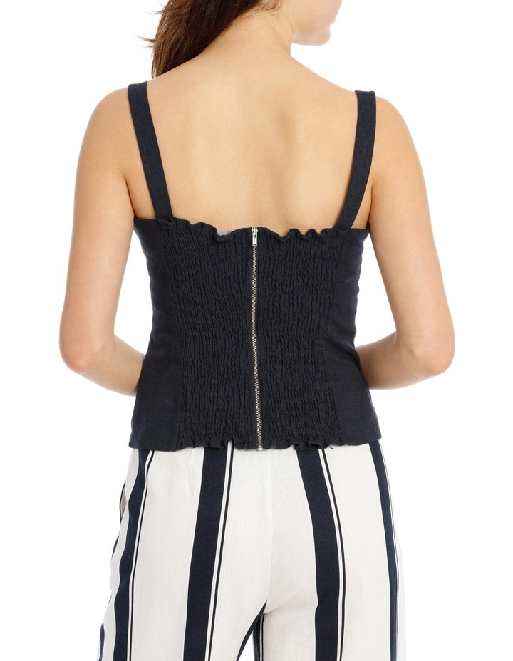 Top Bustier Style with Shirrred Back image 3