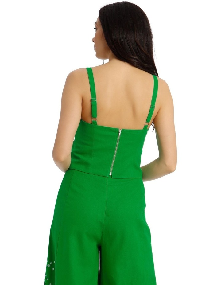 Embroidered Sleeveless Cami Top image 3