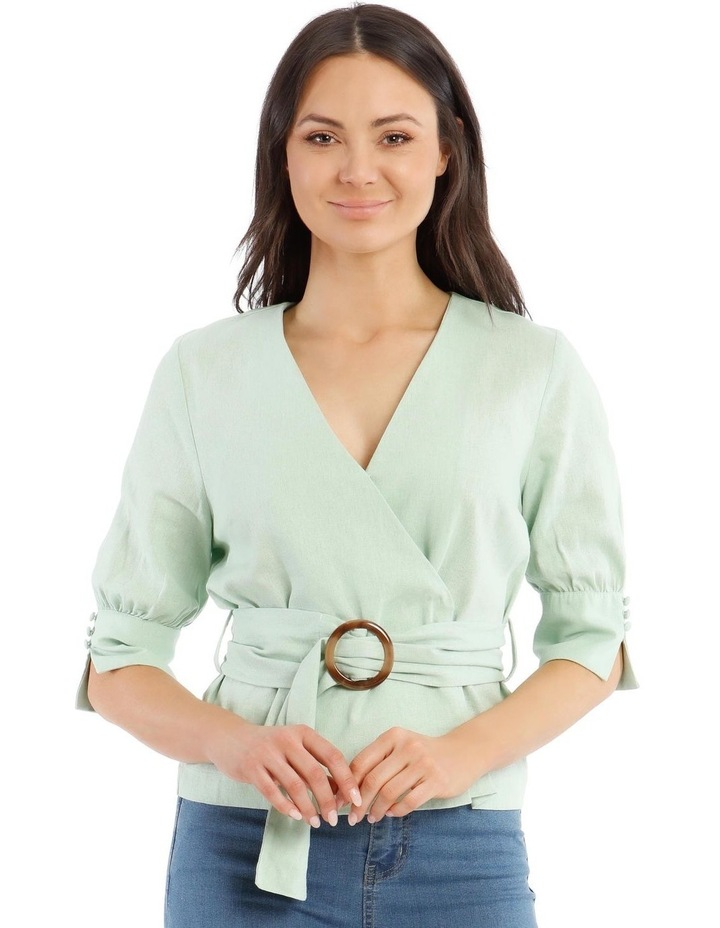 Wrap Top With Buckle image 1