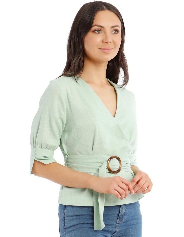 Wrap Top With Buckle image 2