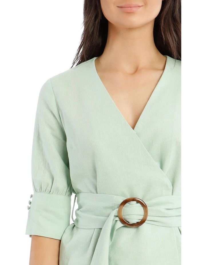 Wrap Top With Buckle image 4