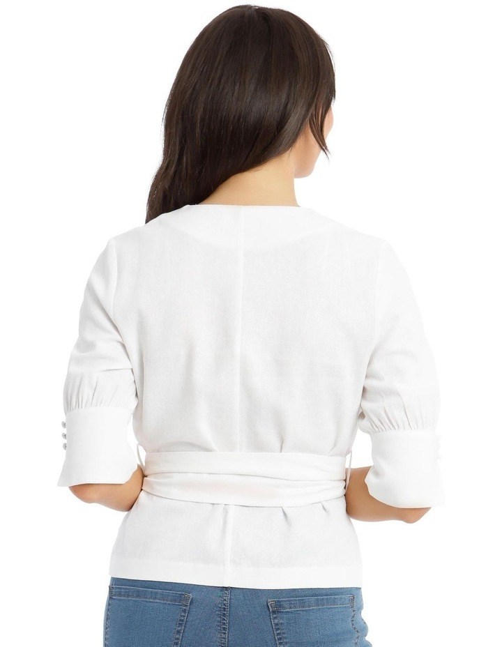 Wrap Top With Buckle image 3