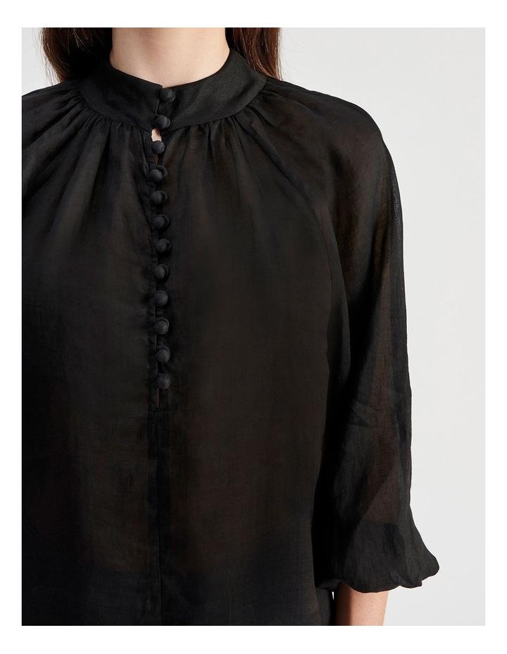 High Neck Button Blouse image 5
