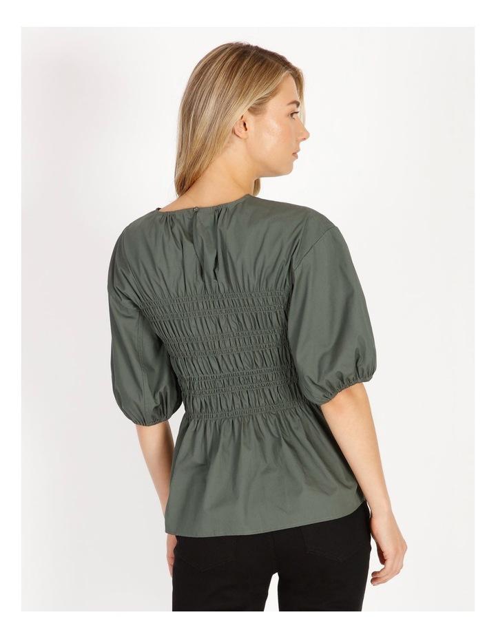 Organic Cotton Shirred Blouse image 3