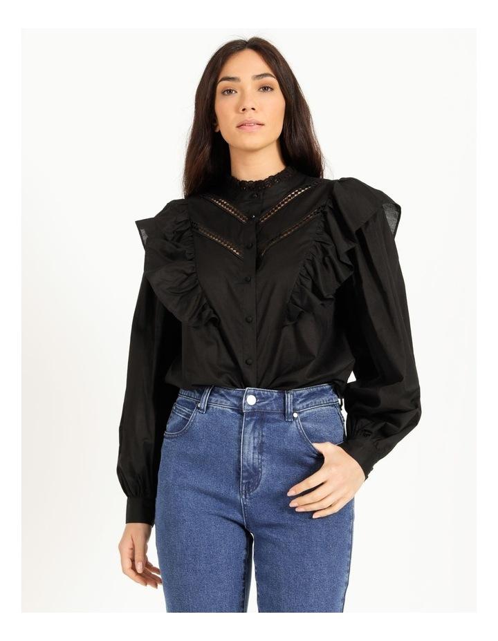 Organic Cotton Ruffle Shirt image 1