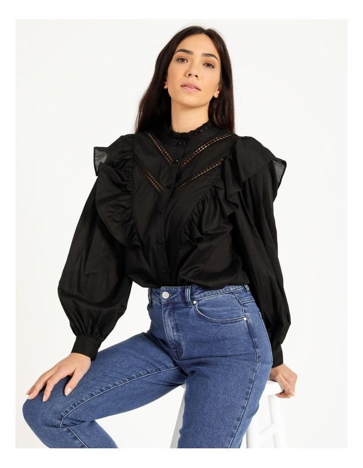Organic Cotton Ruffle Shirt image 4