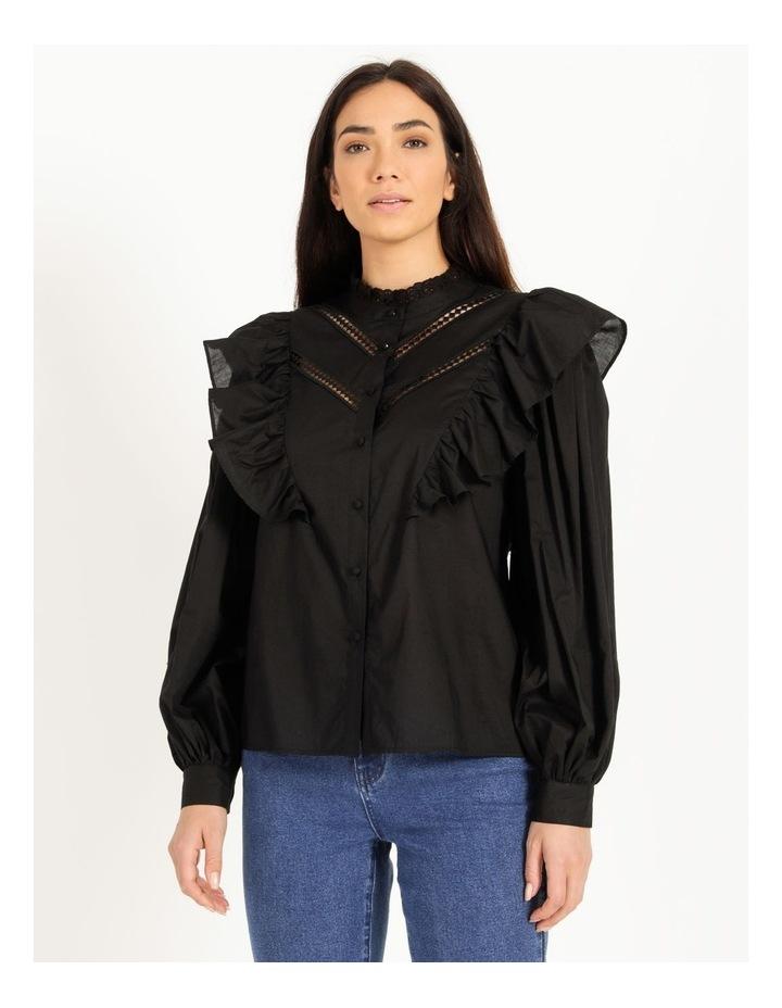 Organic Cotton Ruffle Shirt image 5