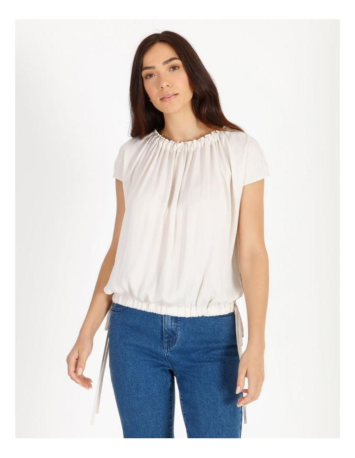 Bruised Poly Short Sleeved Top image 1