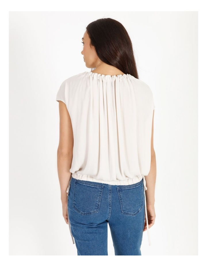 Bruised Poly Short Sleeved Top image 3