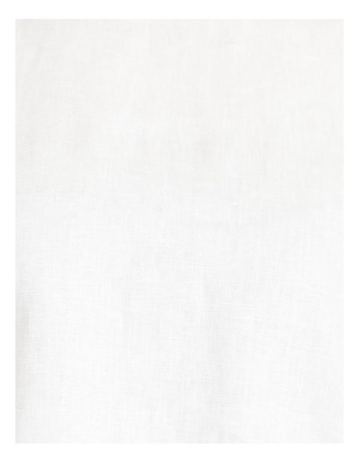 Organic Linen Puff Sleeve Top image 7
