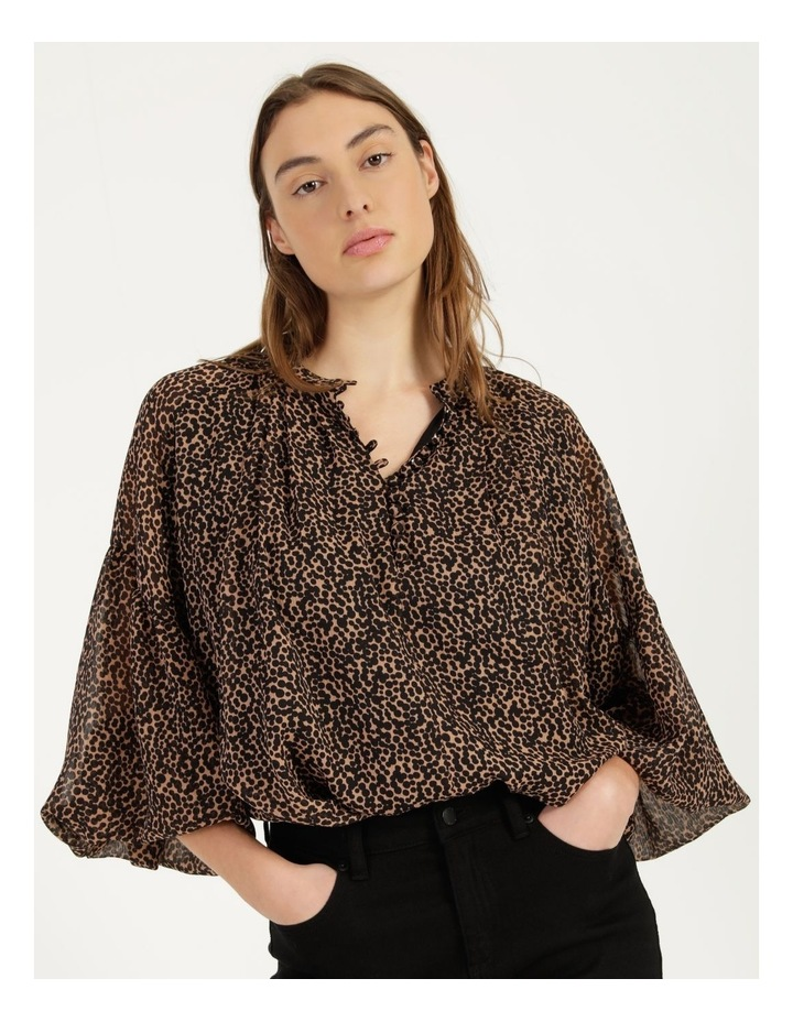 Button Up Long Sleeve Blouse image 2