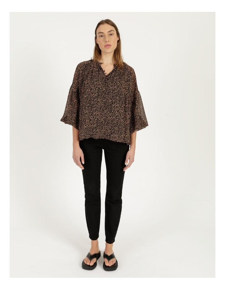 Button Up Long Sleeve Blouse image 3