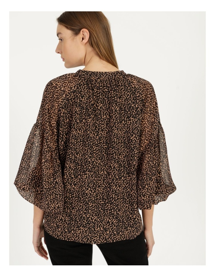 Button Up Long Sleeve Blouse image 4