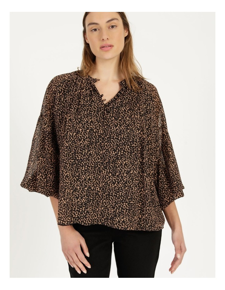 Button Up Long Sleeve Blouse image 5