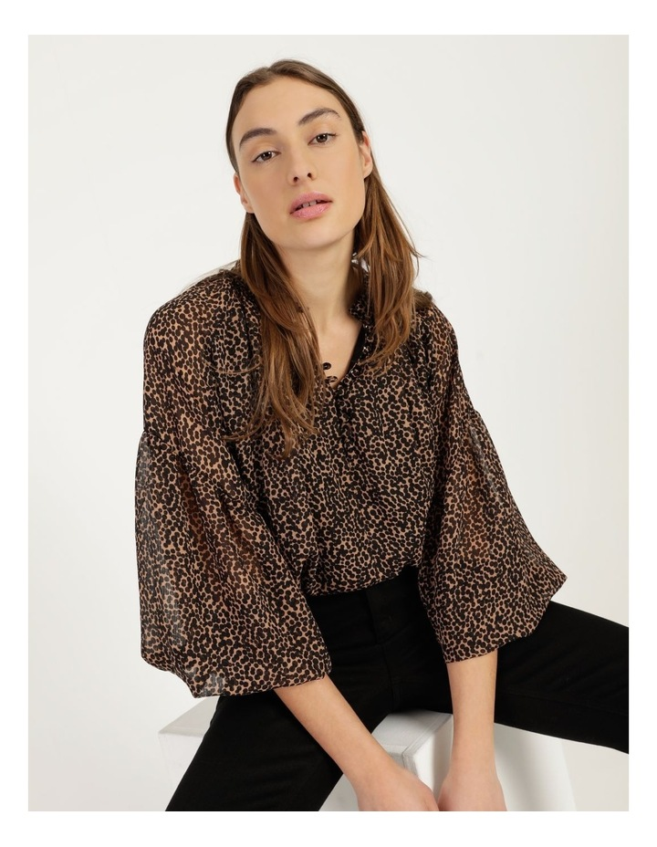 Button Up Long Sleeve Blouse image 7