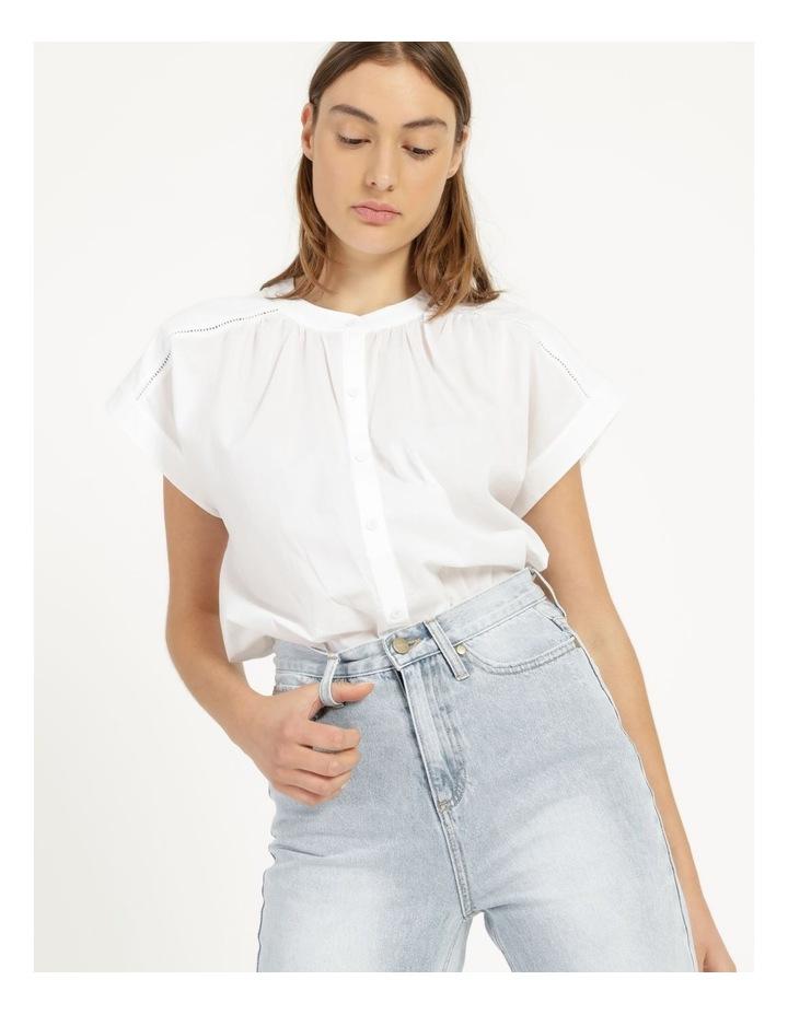 Cotton Button Front Shirt image 1