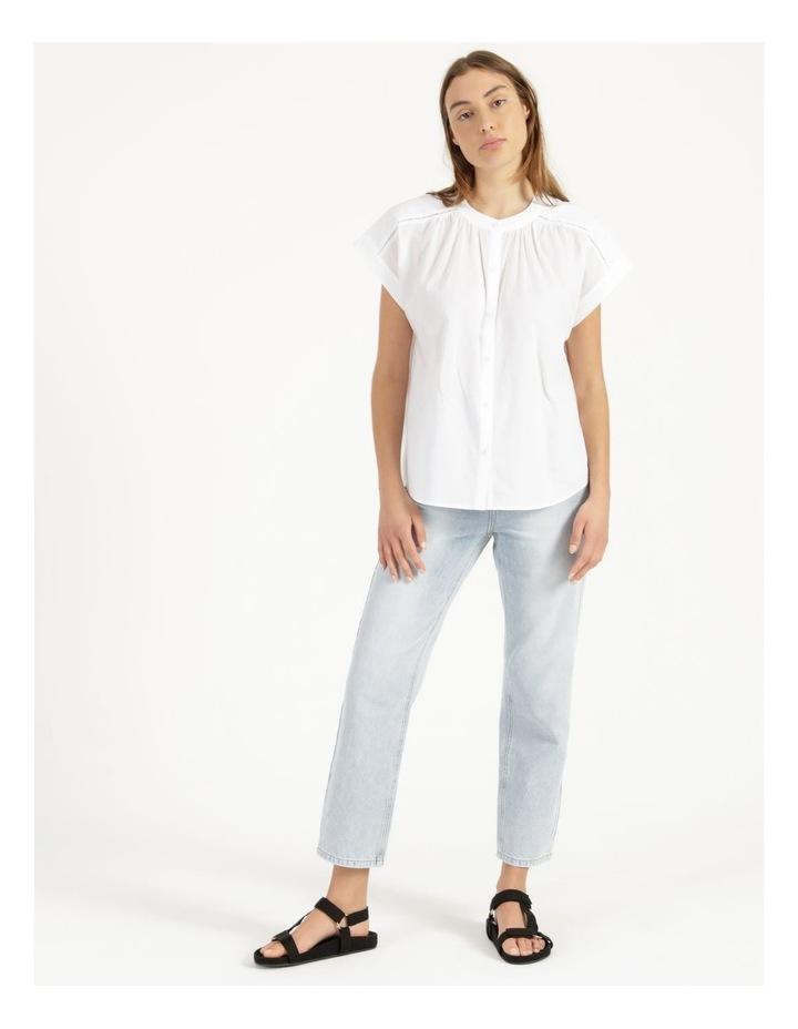Cotton Button Front Shirt image 2
