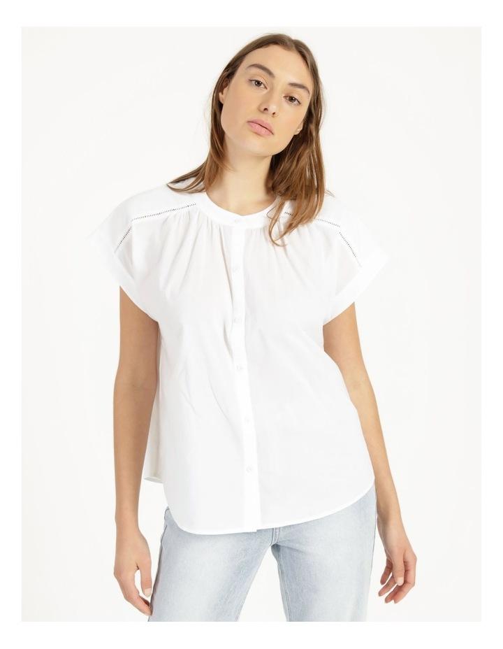 Cotton Button Front Shirt image 3