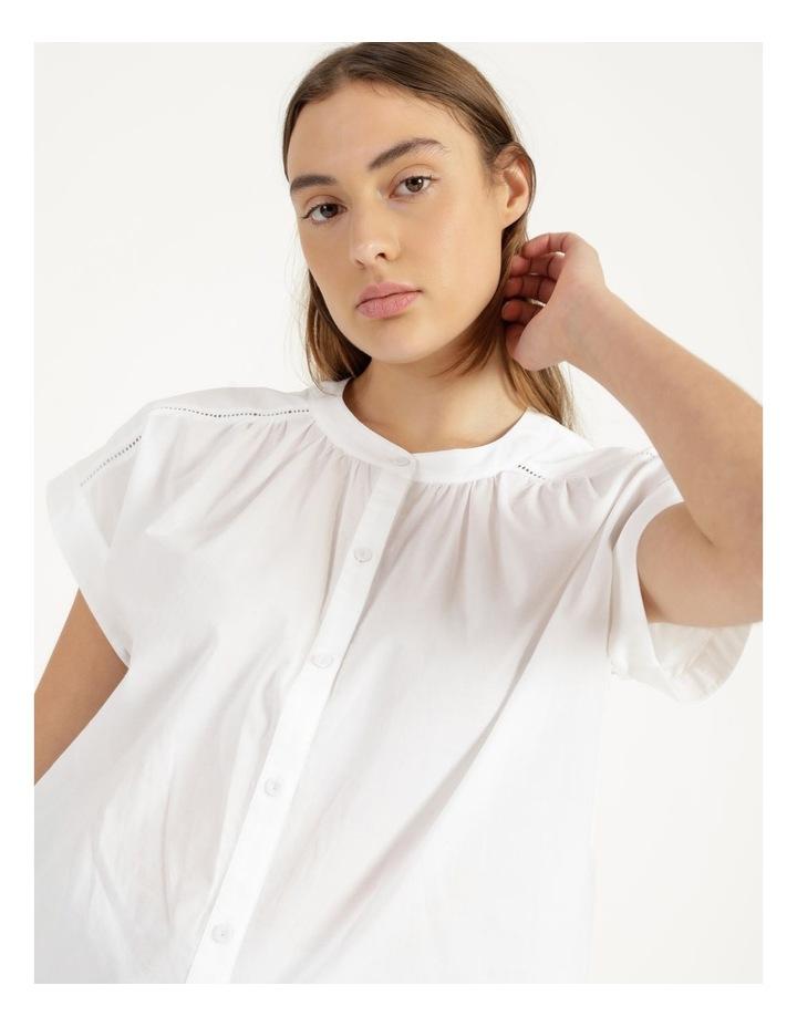 Cotton Button Front Shirt image 5