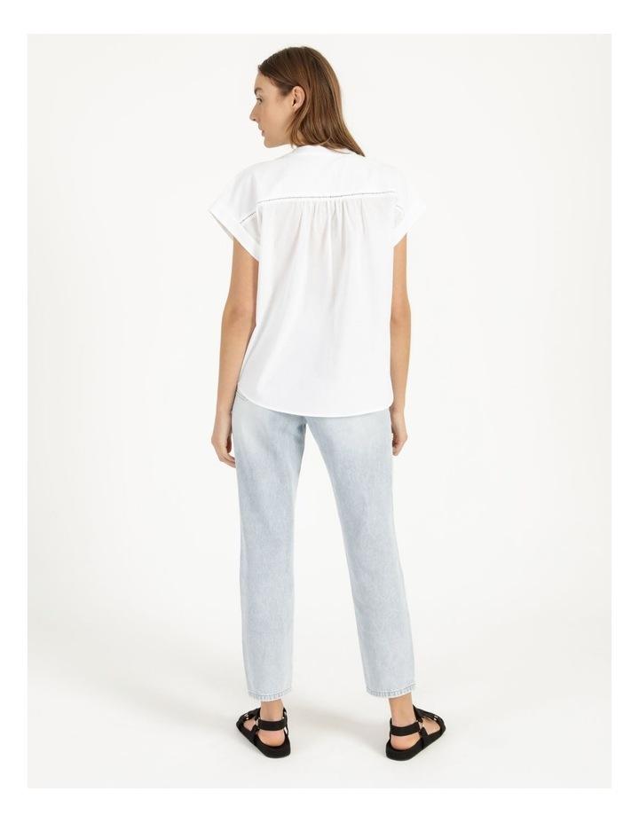 Cotton Button Front Shirt image 6