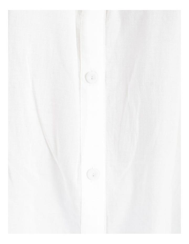 Cotton Button Front Shirt image 7