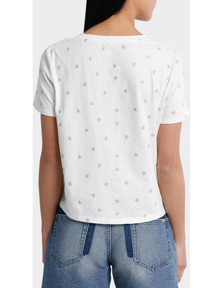 Tee Embroidered -Star metallic image 3