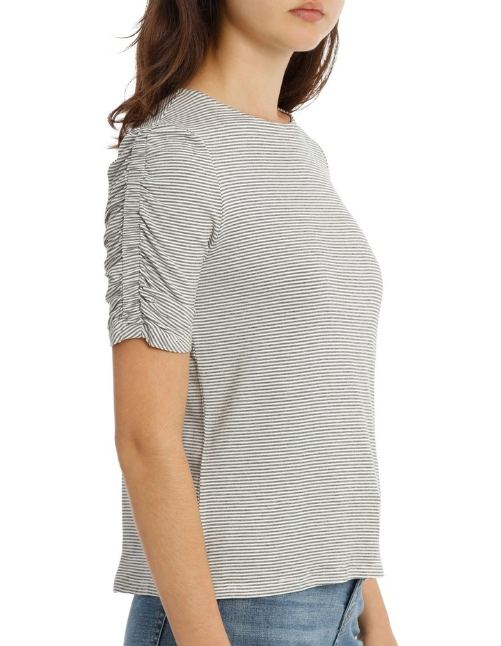 Tee Rouched Sleeve image 2