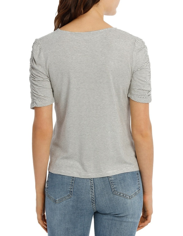 Tee Rouched Sleeve image 3
