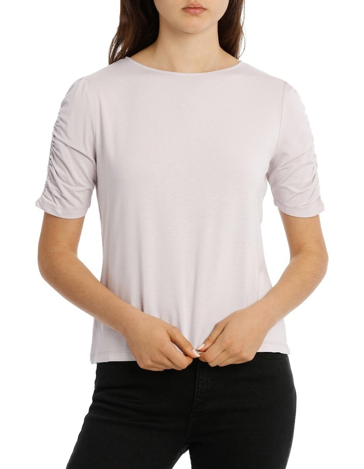 Tee Rouched Sleeve image 1