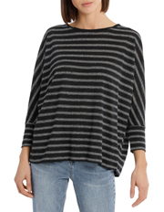 Piper - Tee 3/4 Sleeve Oversized