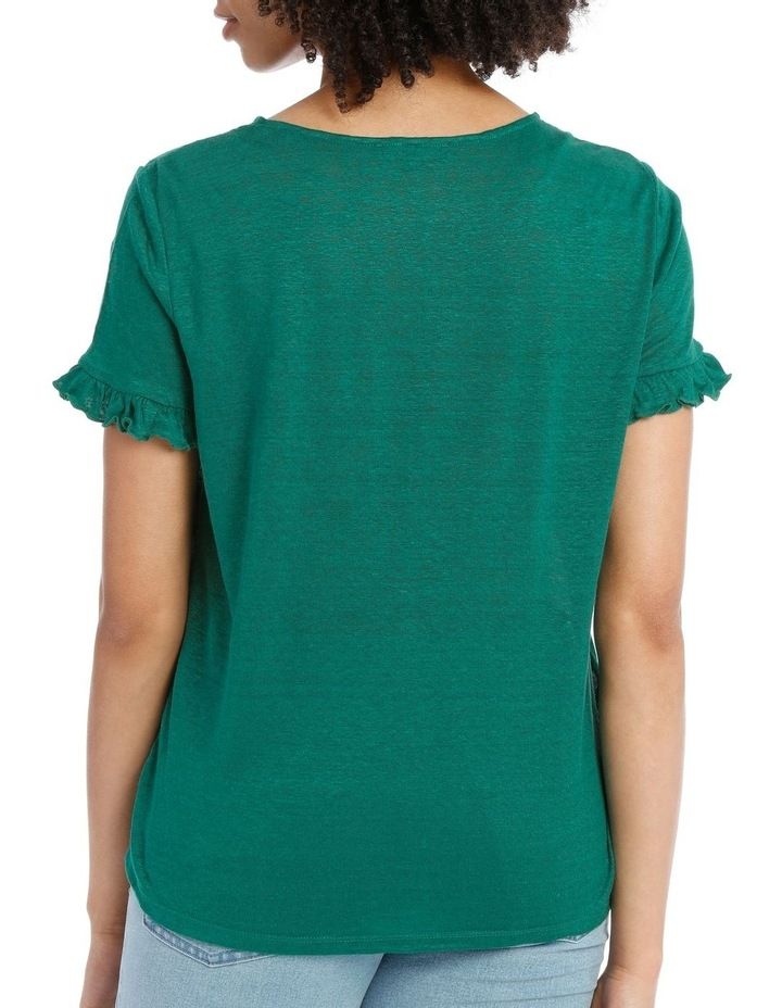Tee with Frill Short Sleeve image 2