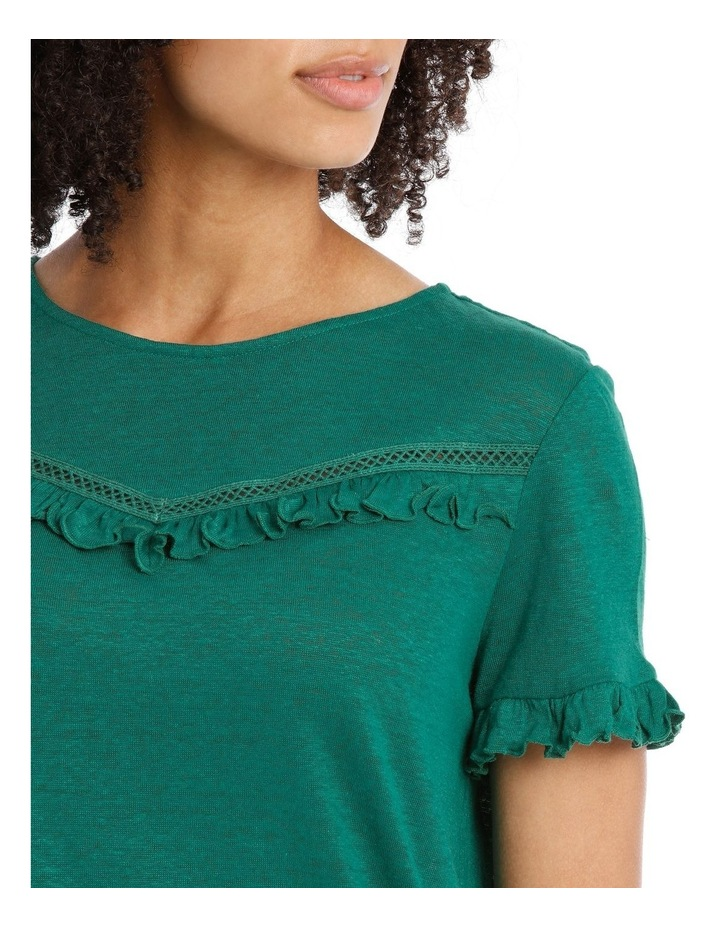 Tee with Frill Short Sleeve image 3