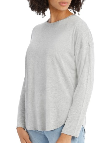 5704b8c03b17 PiperTee Crew Neck Oversized With Side Splits. Piper Tee Crew Neck  Oversized With Side Splits