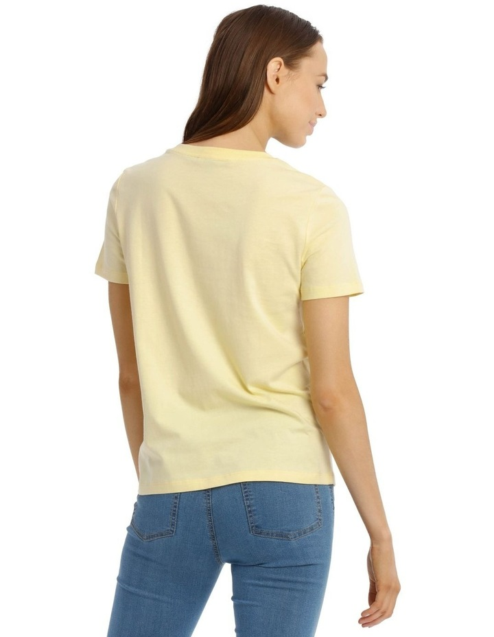 Fitted Crew Neck Tee image 3