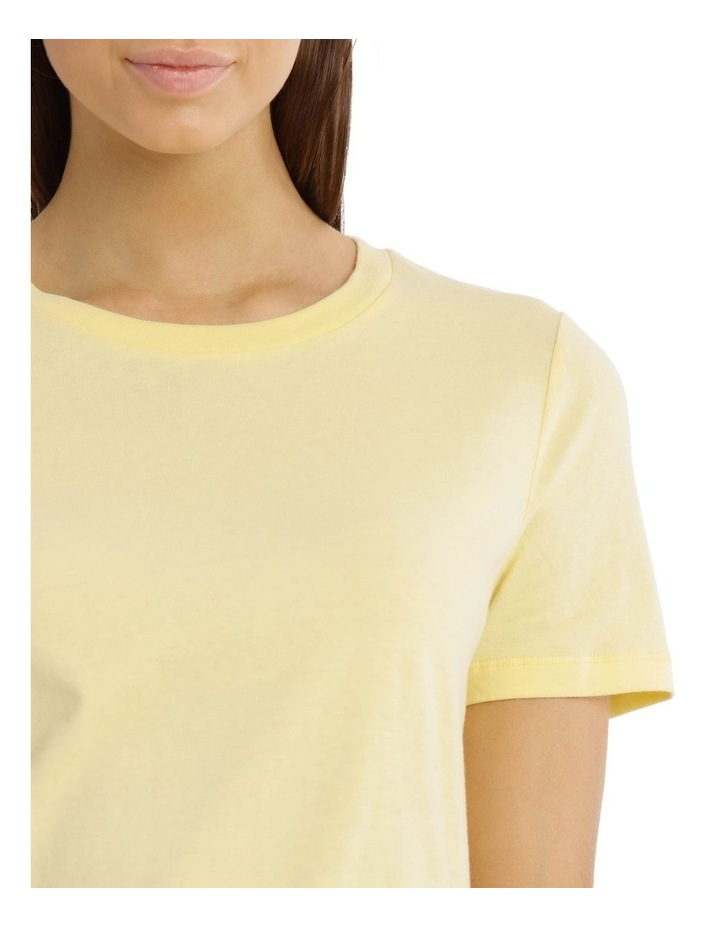 Fitted Crew Neck Tee image 4