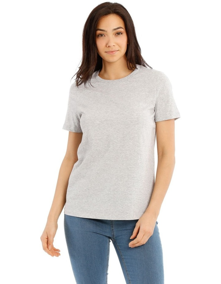 Crew Neck Fitted Tee image 1