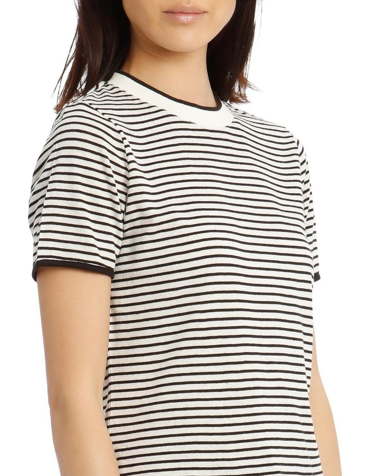 Crew Neck Striped T-Shirt image 4