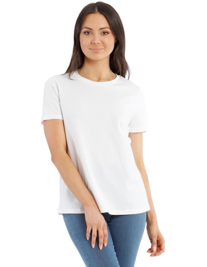 Fitted Crew Neck Tee image 1