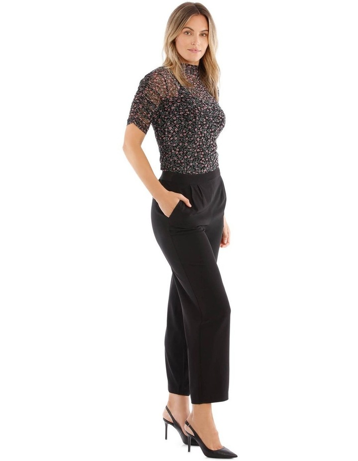 Mesh Ditzy Roll Top image 2