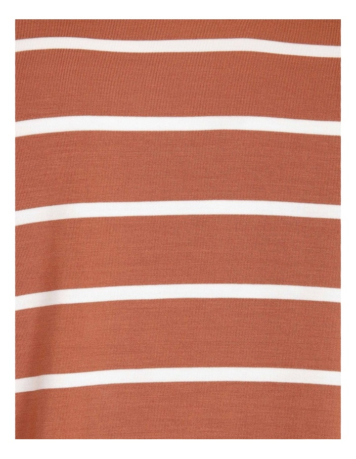 Bamboo Ss Tee Spice/White Stripe image 6