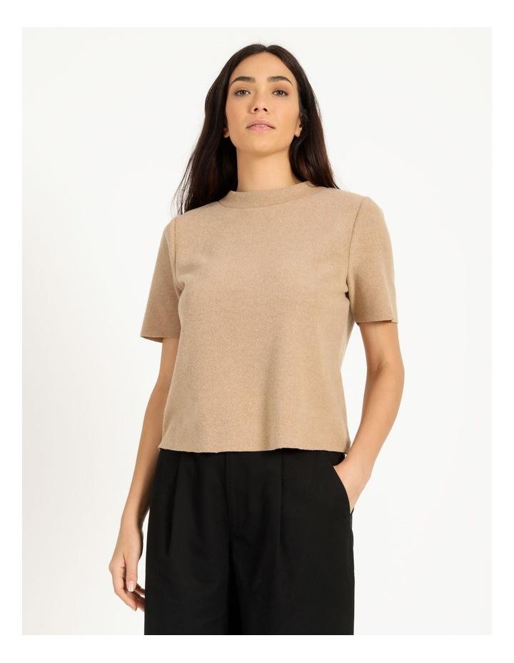 Short Sleeve Thick Rib Tee image 4